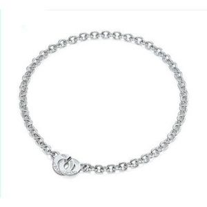 Tiffany & Co 1837 Circle Clasp Necklace
